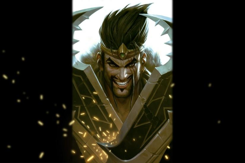 League Of Legends Smiling Draven Wallpaper Free HD Desktop and Mobile  Wallpaper