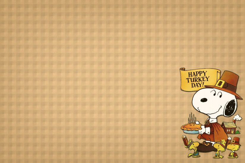 1920x1200 Snoopy thanksgiving backgrounds