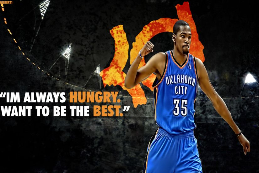 Kevin Durant background.