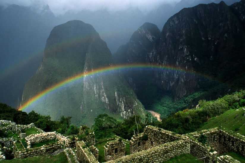 Machu Picchu Best Place Wallpaper