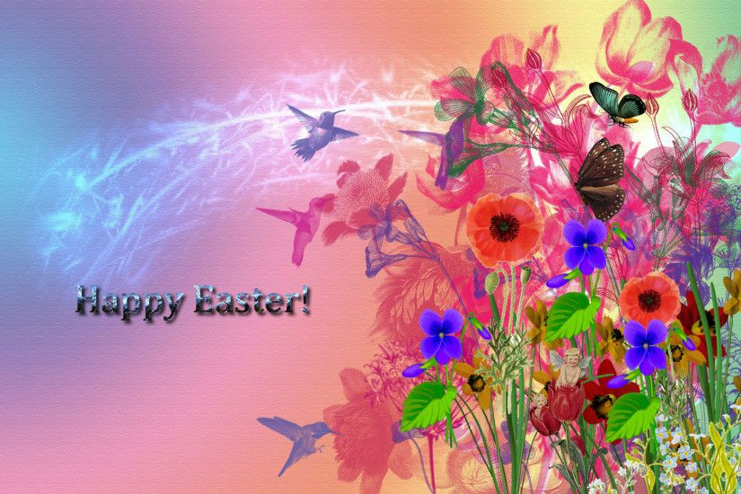 colorful-flower-drawing-happy-easter-hd-wallpaper