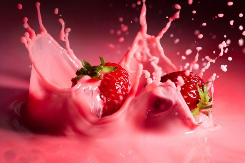 Strawberry cream Photography HD desktop wallpaper, Strawberry wallpaper,  Fruit wallpaper, Cream wallpaper - Photography no. 11917