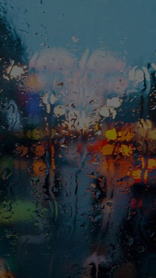 Rainy Day Window #iPhone #6 #plus #wallpaper