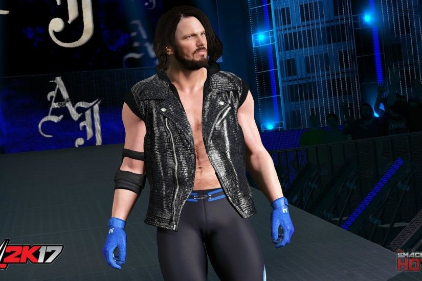 ... WWE2K17-AJStyles ...
