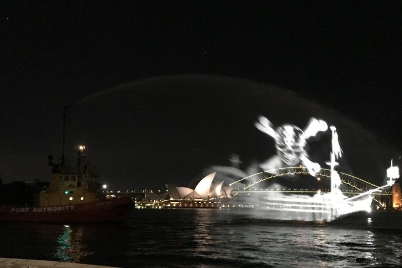 Over the next three nights, Disney has tasked the ghost ship to circle  Sydney Harbour to build a bit of hype for the latest Pirates flick, which  comes out ...