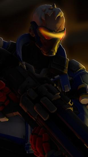 soldier 76 wallpaper 1080x1920 for hd 1080p
