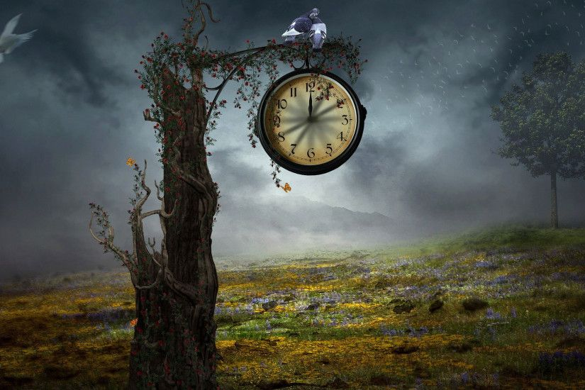 hd pics photos best time clock animated fantasy hd quality desktop  background wallpaper