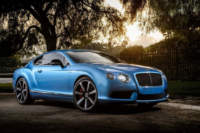 Blue Bentley Continental GT Wallpaper HD 48792