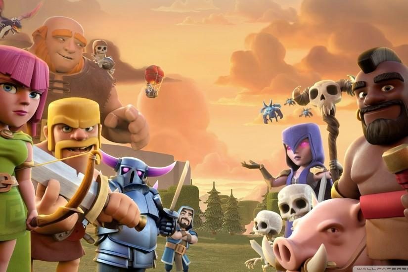 free download clash of clans wallpaper 2048x1152