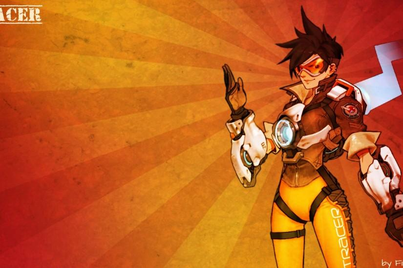 full size overwatch tracer wallpaper 2560x1440 windows