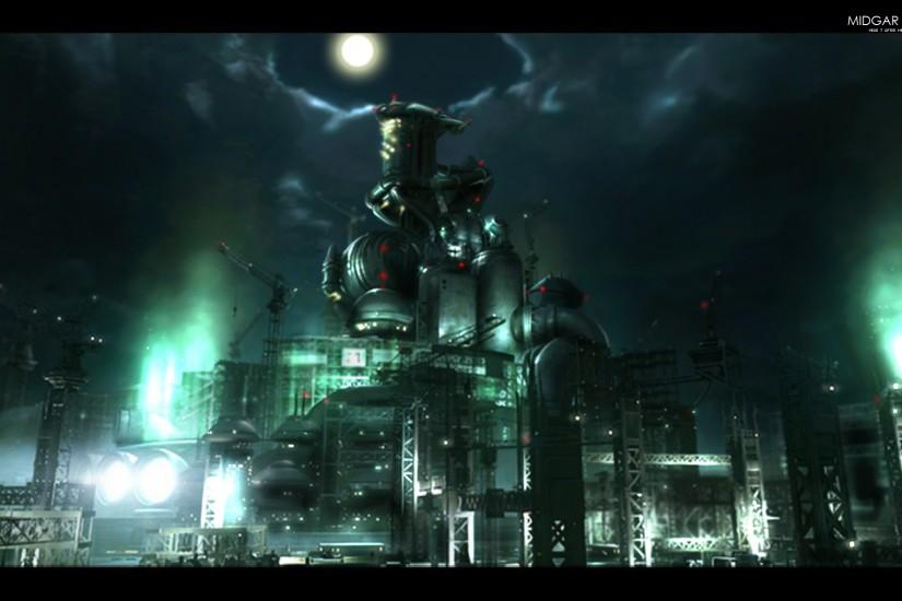 Midgar High Quality Wallpaper by ~wingsofwar