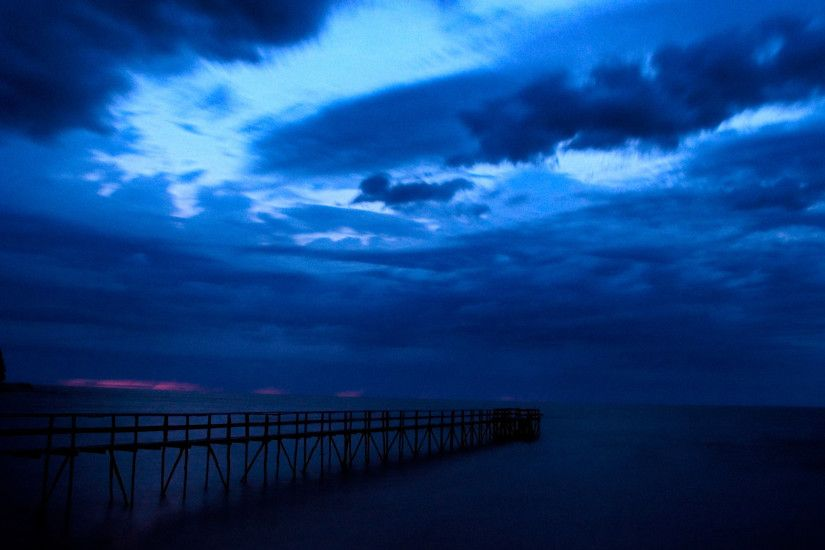 Nature Wallpaper: Dark Blue Sky Wallpapers Photo for HD Wallpaper Desktop