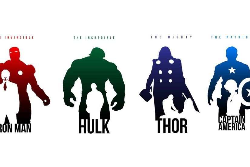 Simple Marvel Avengers HD Wallpaper