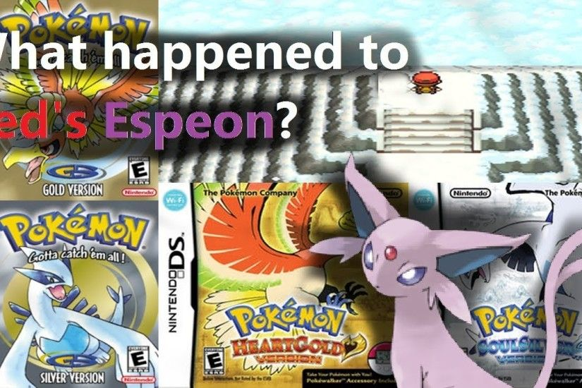 PokeThoughts: What happened to Red's Espeon?
