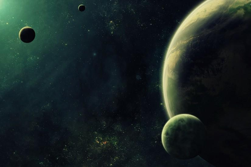 large planets wallpaper 2880x1800