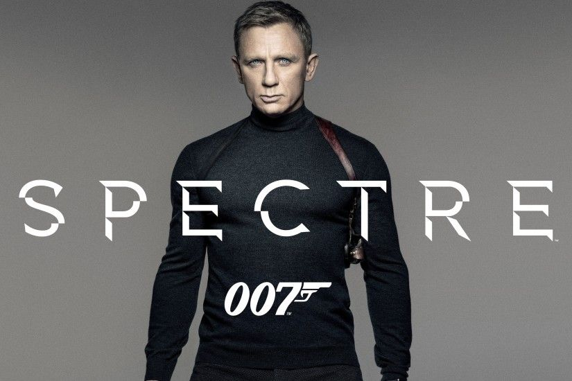 Movie Poster of Spectre 007 James Bond - Daniel Craig for Wallpaper