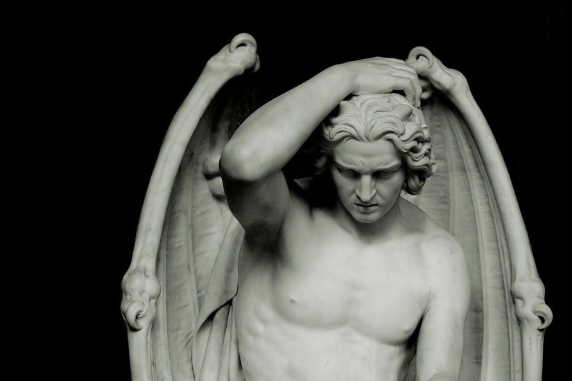 statues lucifer 2536x4123 wallpaper Art HD Wallpaper