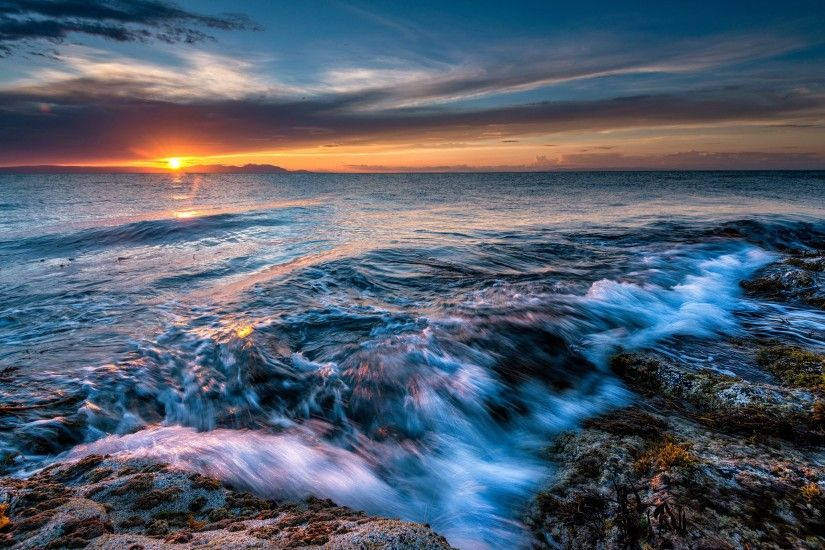 ocean desktop background Ocean Waves Desktop Background 572104 :  Wallpapers13.com