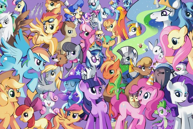 My Little Pony Wallpapers - My Little Pony Friendship is Magic .