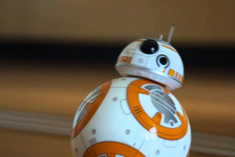 BB8 saying HELLO (waking up) Sphero BB-8 in action Star Wars Episode VII  part1