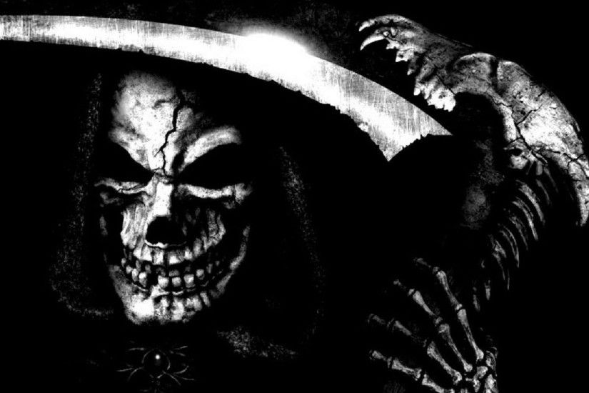 Scary Grim Reaper Wallpaper - Wallpaper And Background