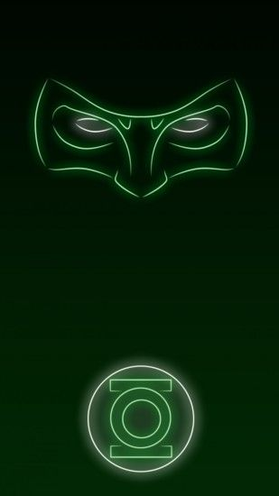 Neon Light Hero Green Lantern 1080 x 1920 Wallpapers available for free  download.