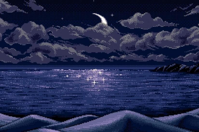 amazing pixel art wallpaper 1920x1080