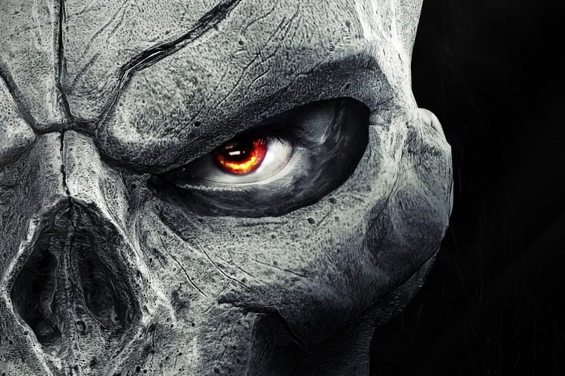 skull backgrounds 2560x1600 for windows 10