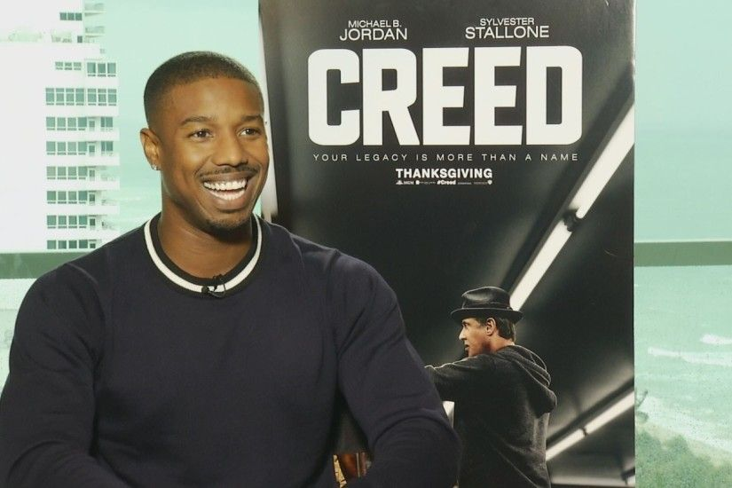 Michael B. Jordan's CREED workout and diet, what he learned from Stallone,  more - YouTube