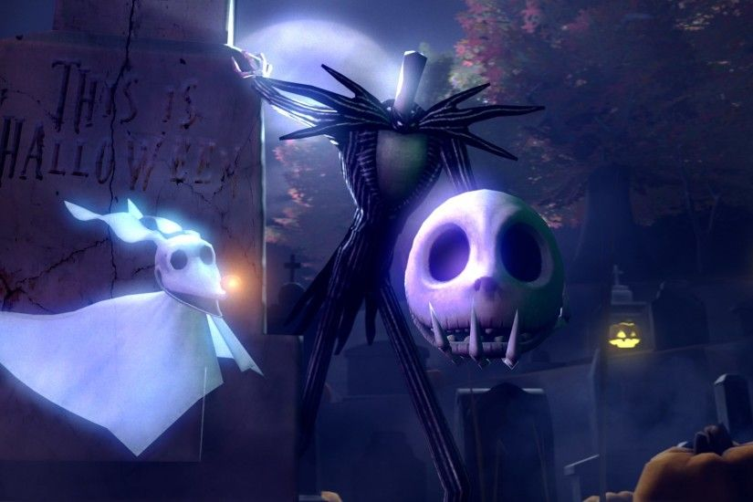 jack skellington nightmare before christmas pc wallpaper