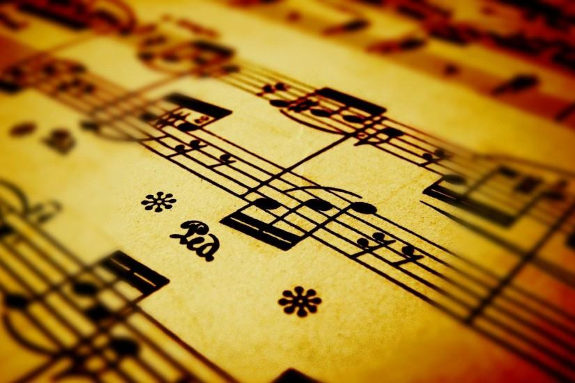 beautiful music notes wallpaper 1920x1200