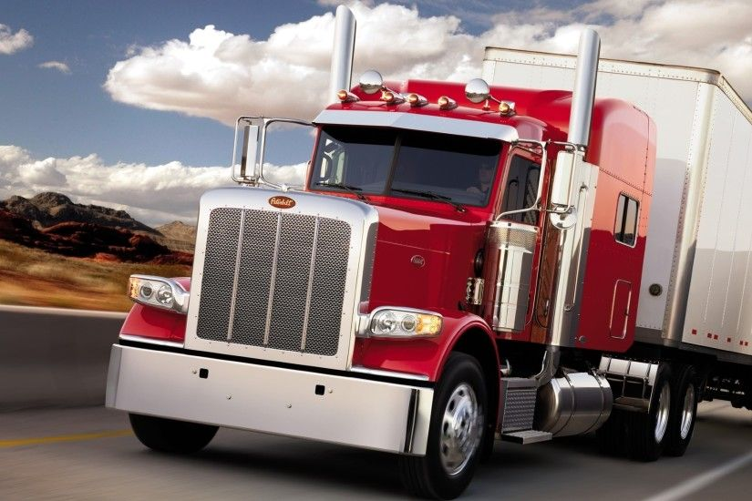 Peterbilt cargo truck wallpapers and images - wallpapers, pictures .