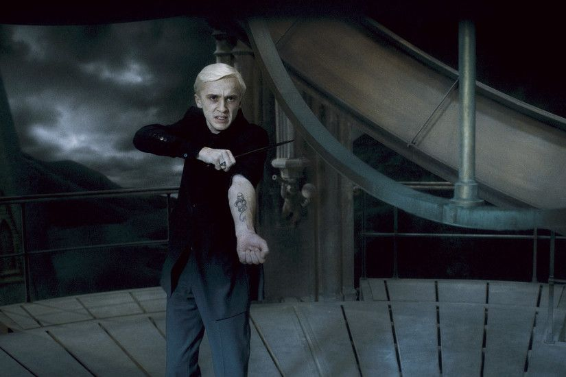 Draco was instrumental in the death of Dumbledore. He displayed his  allegiance to the Dark Lord right before he intended to commit this awful  act.