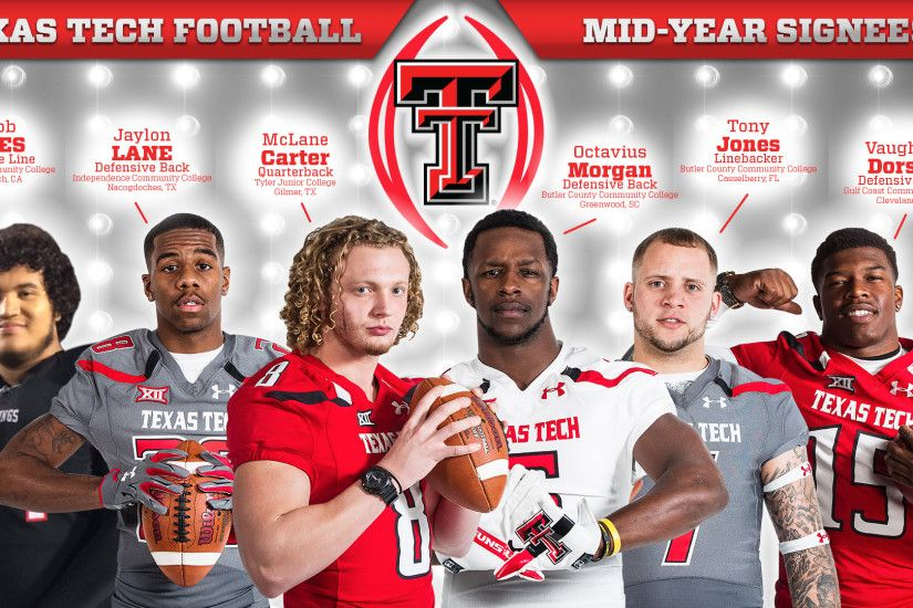 Texas Tech Welcomes Fresh Group of Mid-Year Signees