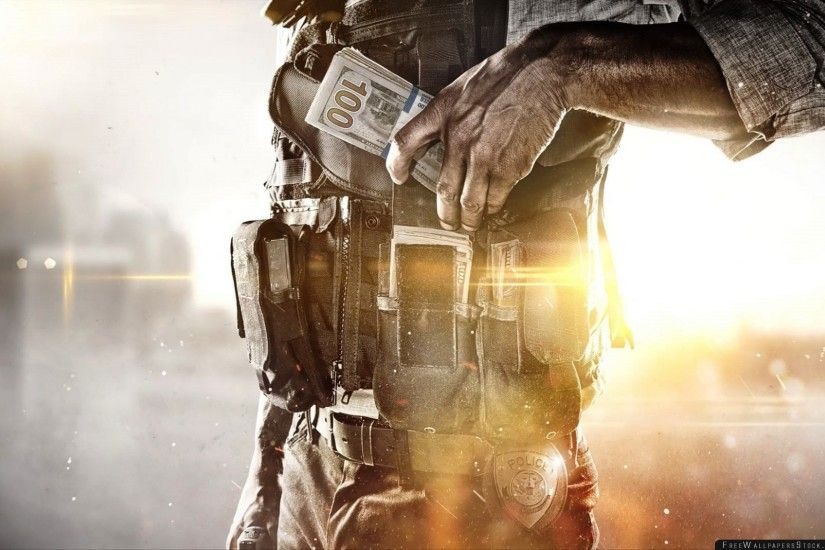 Download Free Wallpaper Battlefield Hardline Visceral Games Electronic Arts  Policeman Body Armor