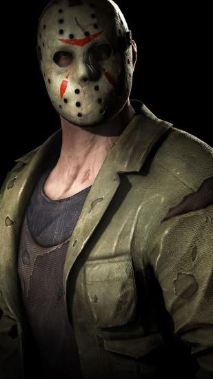 2160x3840 Wallpaper jason voorhees, friday the 13th, character