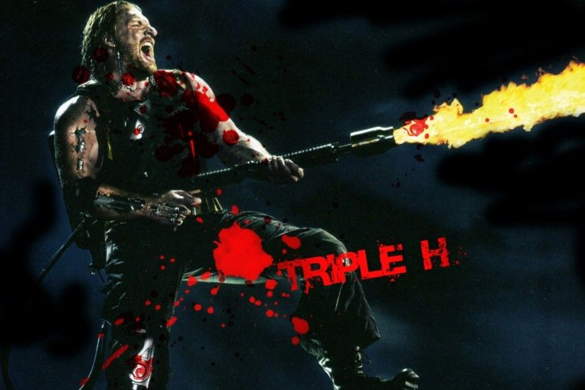 triple hhh wwe wallpaper download
