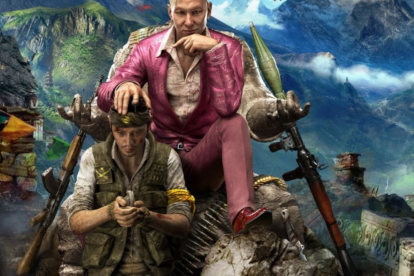 Preview wallpaper far cry 4, ubisoft, kirata, pagan min 2048x2048
