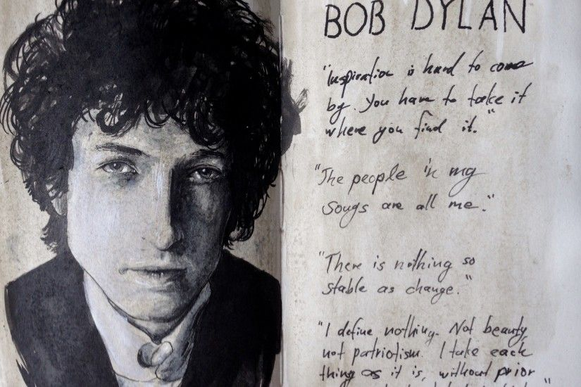... Portrait of Bob Dylan by Lord-Fabulous