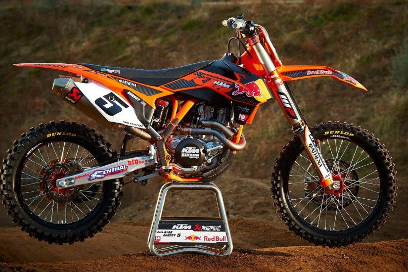 Motocross KTM Bike HD Wallpapers 9