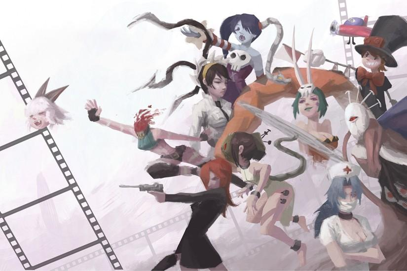 ... Skullgirls (1920x1080 Wallpaper) by Alex-Chow