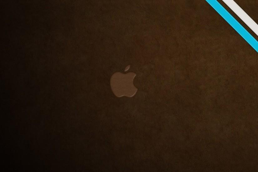 Leather Apple Logo Wallpaper 22540