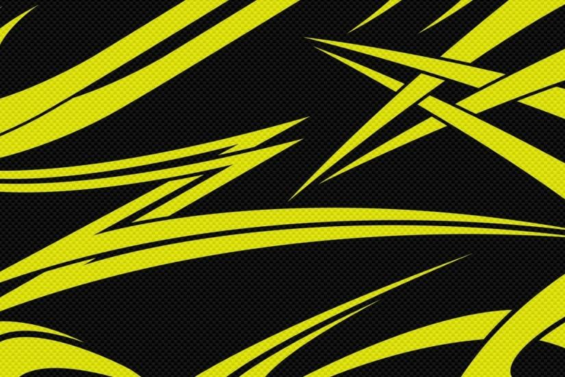 Preview wallpaper yellow, black, lines, sharp 1920x1080