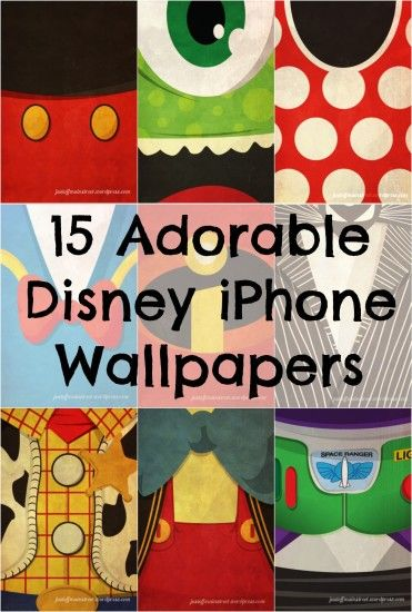 15 Iconic #Disney Characters as iPhone Wallpapers/ I need a wallpaper to  represent where