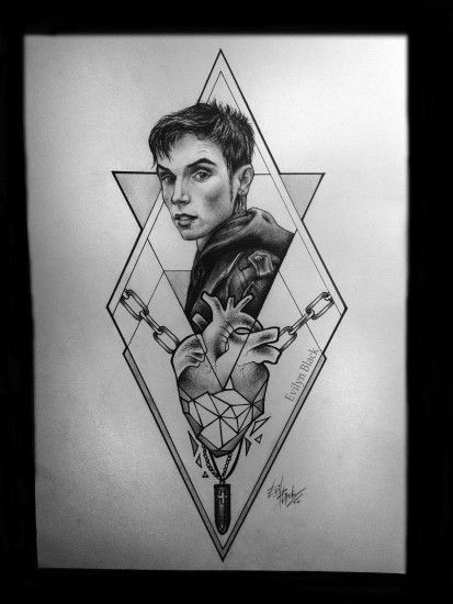 'Nothing Stopping Me' by Evilyn Black. Andy Biersack fan art.