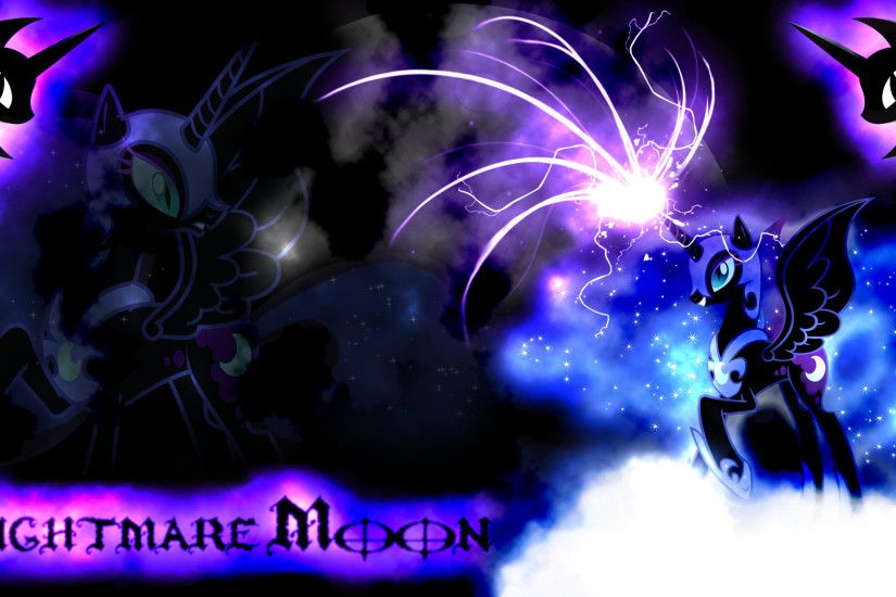Nightmare Moon Wallpaper by Arakareeis Nightmare Moon Wallpaper by  Arakareeis
