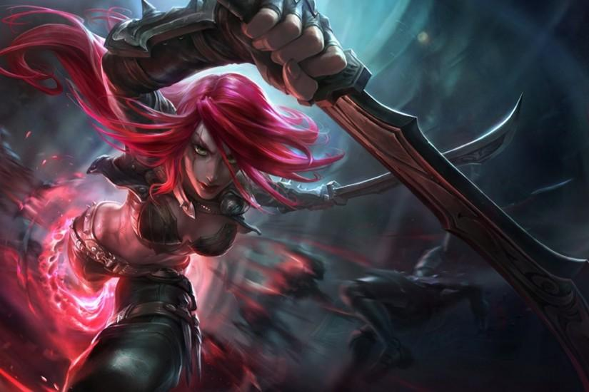 Katarina, League Of Legends Wallpaper HD