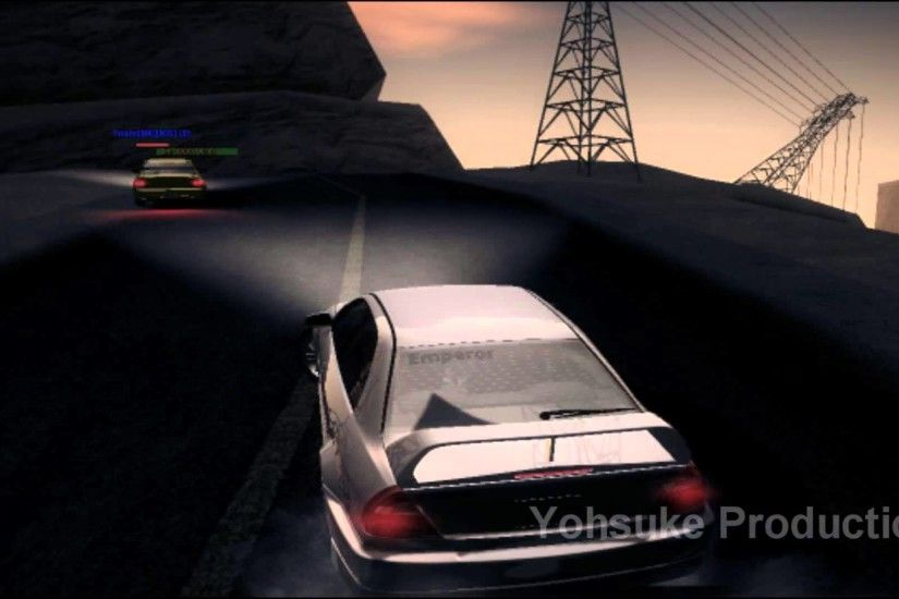 [GTA SA]Initial D Mitsubishi Lancer Evo IV & Evo VII Big Ear twin run -  YouTube