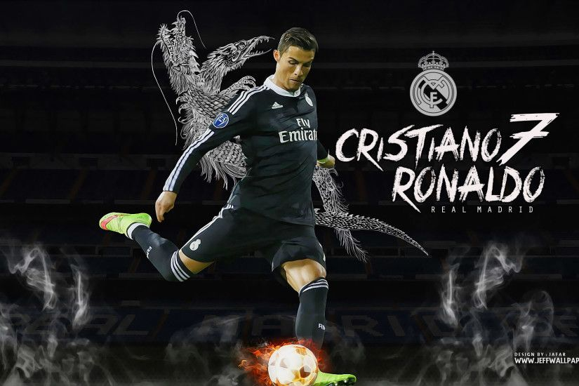Cristiano Ronaldo Real Madrid wallpaper by Jafarjeef