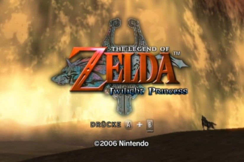 The Legend of Zelda: Twilight Princess - Intro (Full HD - 1080p) - YouTube